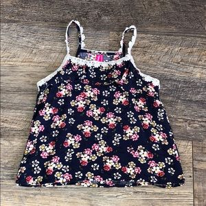 Other - 4/$25👧🏻 2T floral tank top